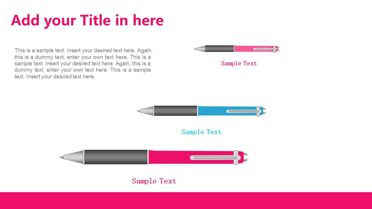 粉色系清新可爱PPT模板下载_预览图4