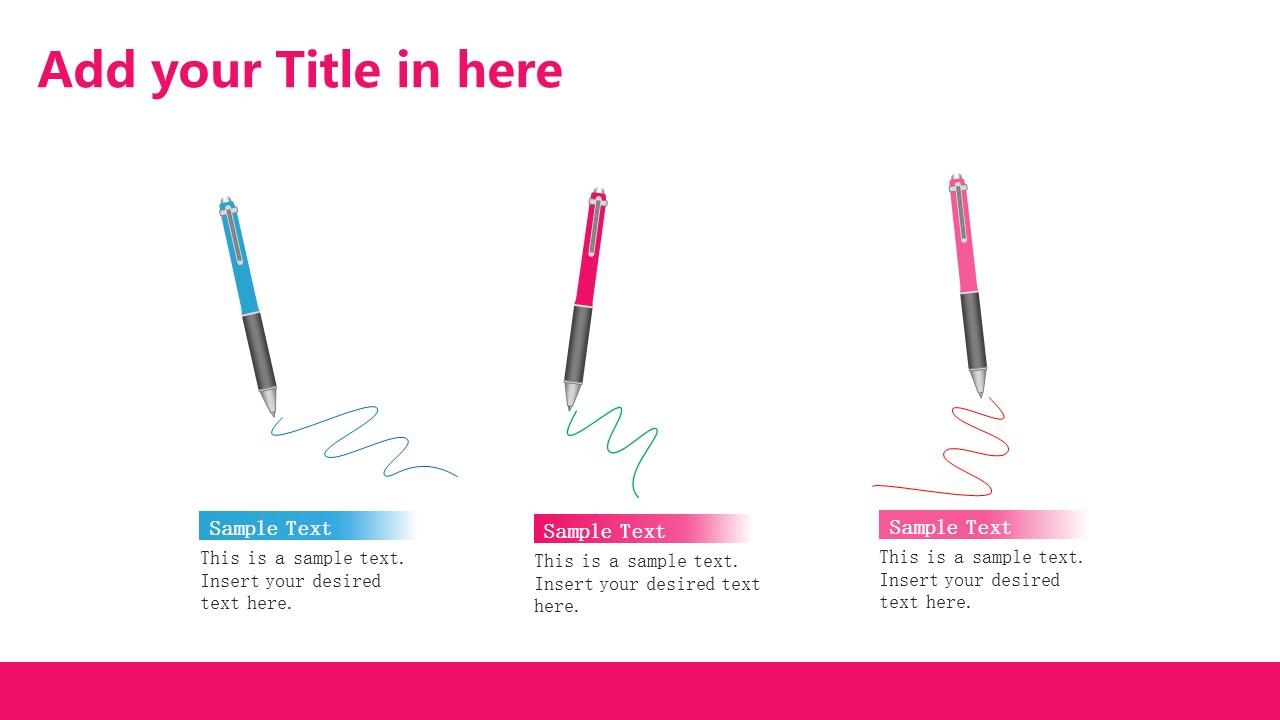 粉色系清新可爱PPT模板下载_预览图14