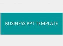 绿色系简洁商务PPT模板下载