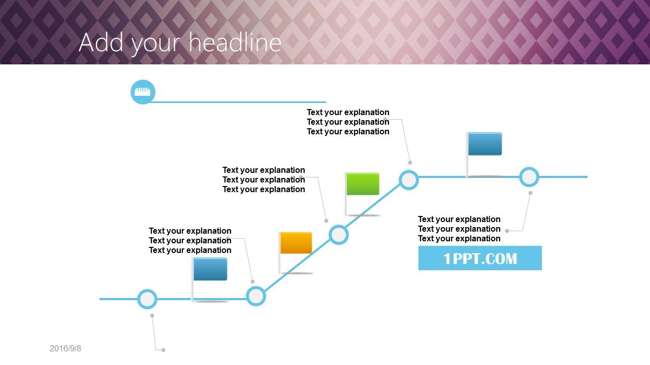 高贵渐变紫商务PPT模板下载_预览图16