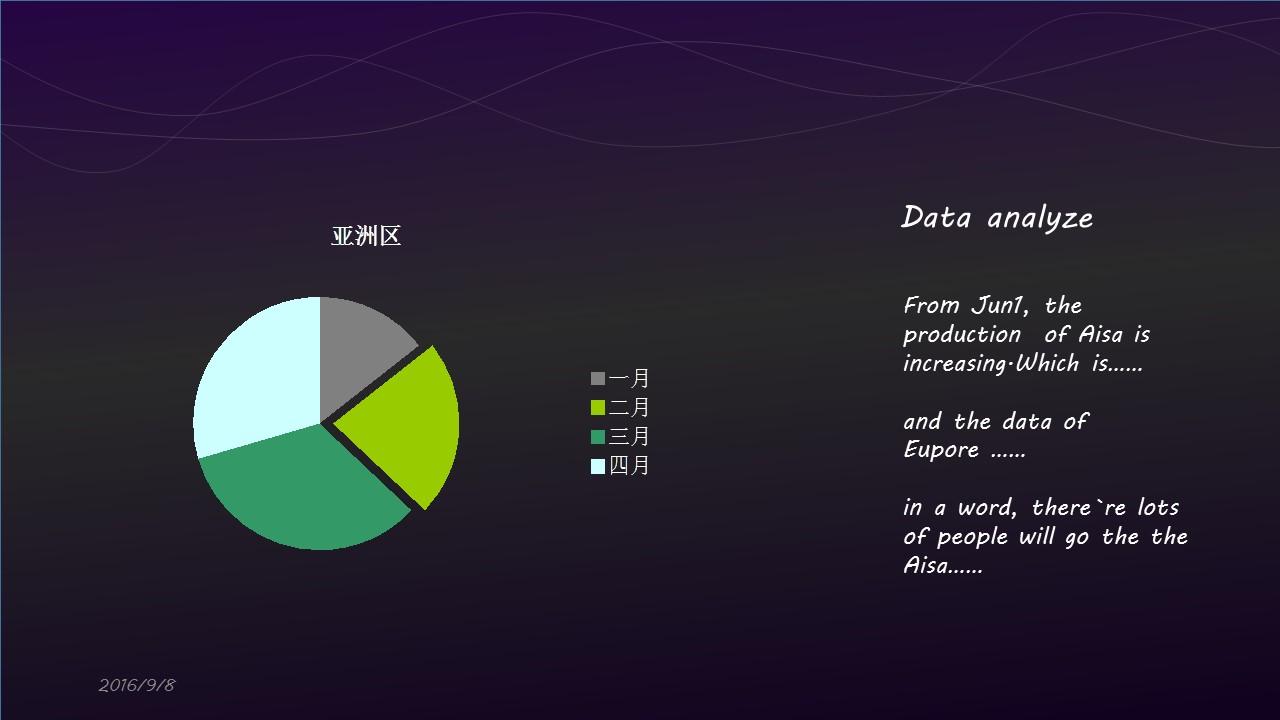 高贵紫色音乐之声PPT模板下载_预览图4