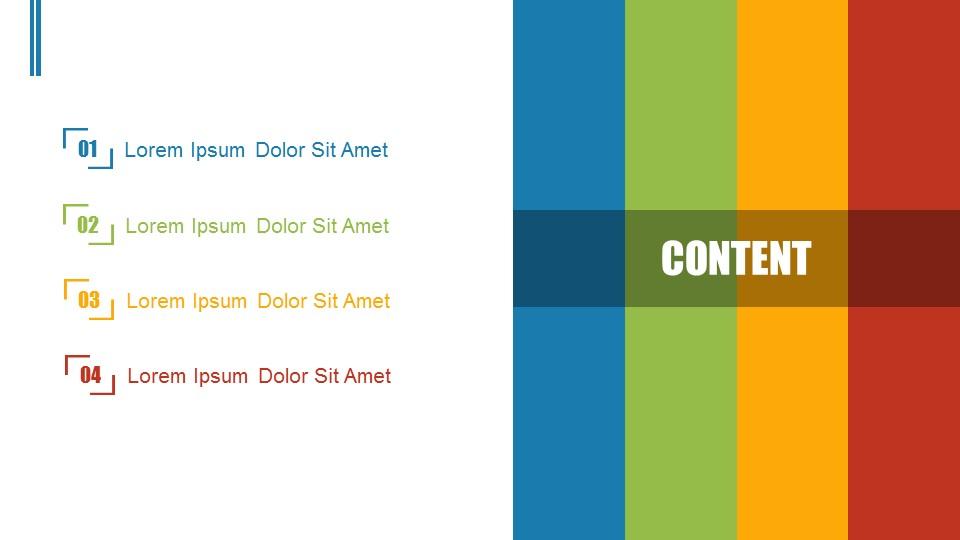 彩虹色营销推广商务PPT模板下载_预览图2