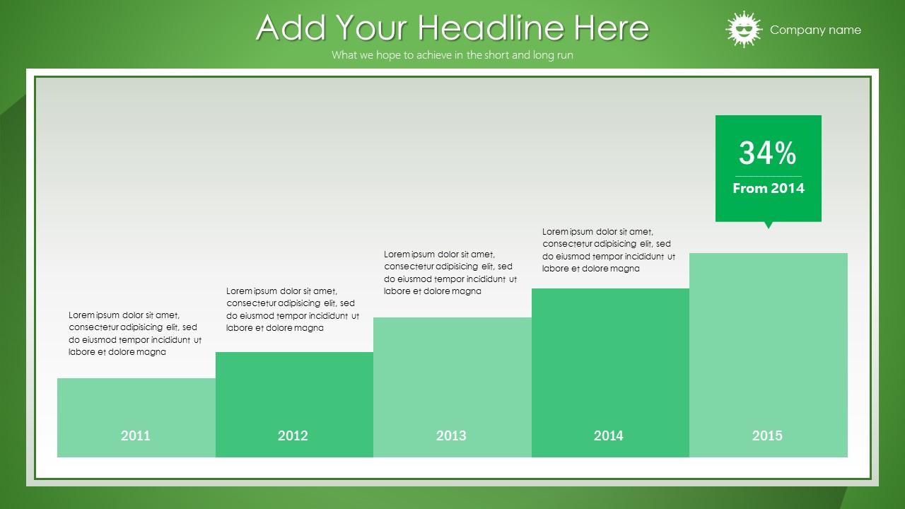 绿色清新总结报告商务PowerPoint模板_预览图19