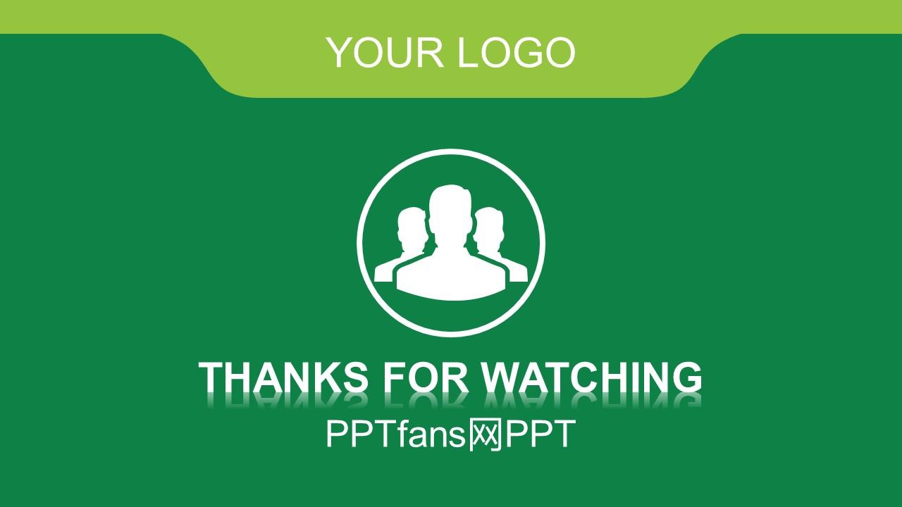 绿色商务通用PPT模板下载_预览图23