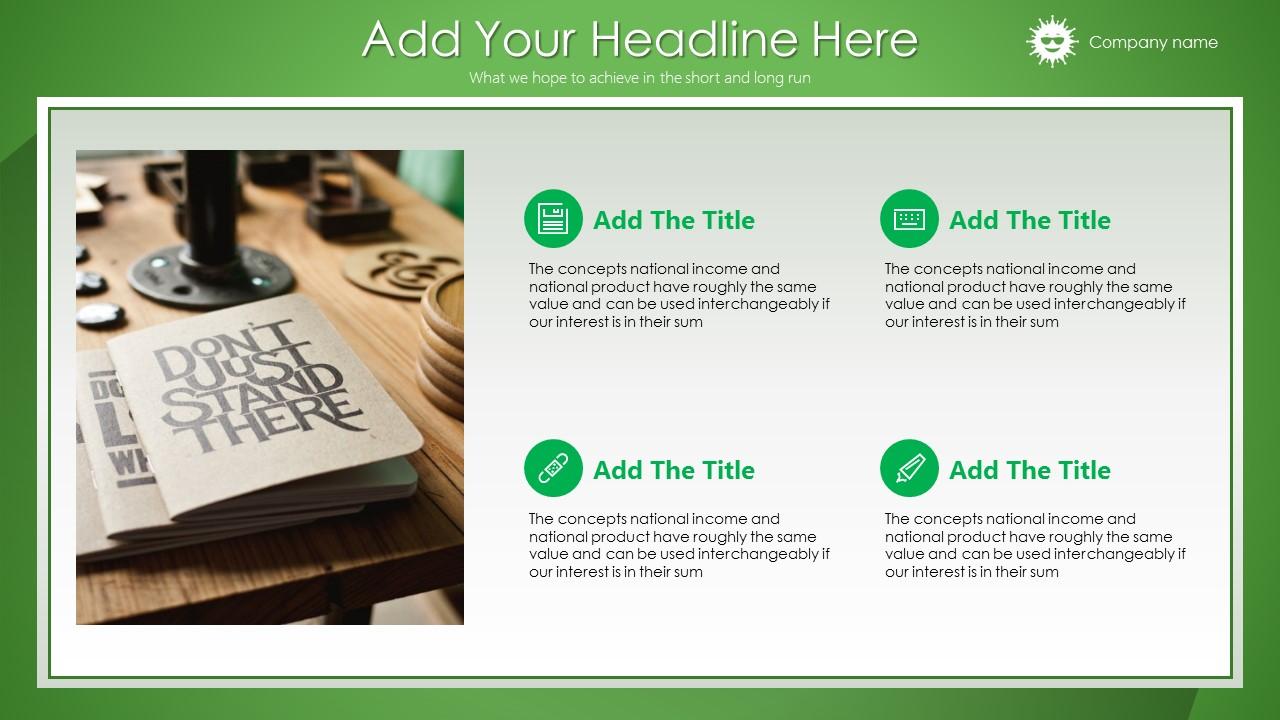 绿色清新总结报告商务PowerPoint模板_预览图9
