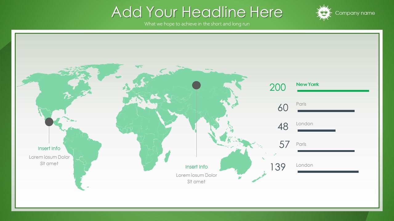 绿色清新总结报告商务PowerPoint模板_预览图18