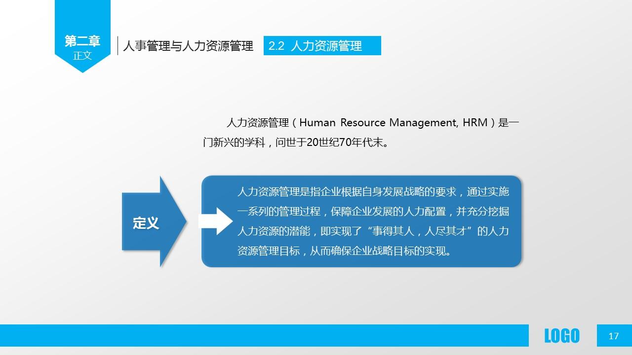 企业人力资源管理PPT模板下载_预览图17