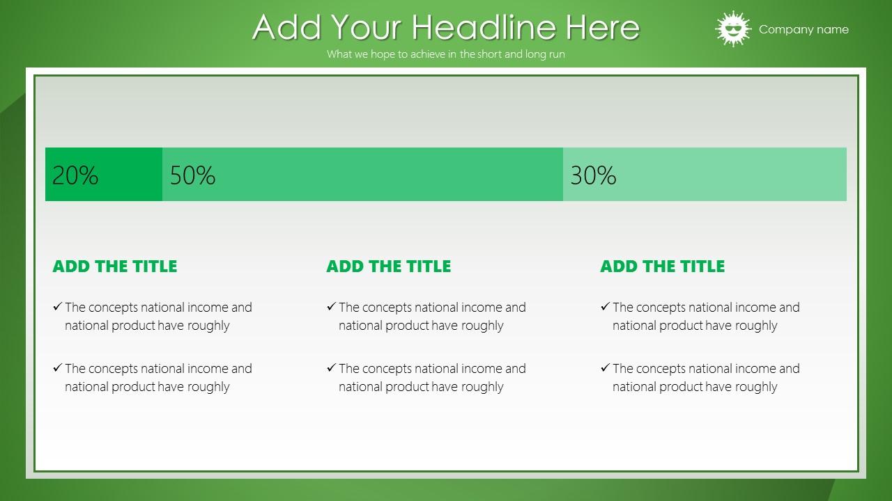 绿色清新总结报告商务PowerPoint模板_预览图17