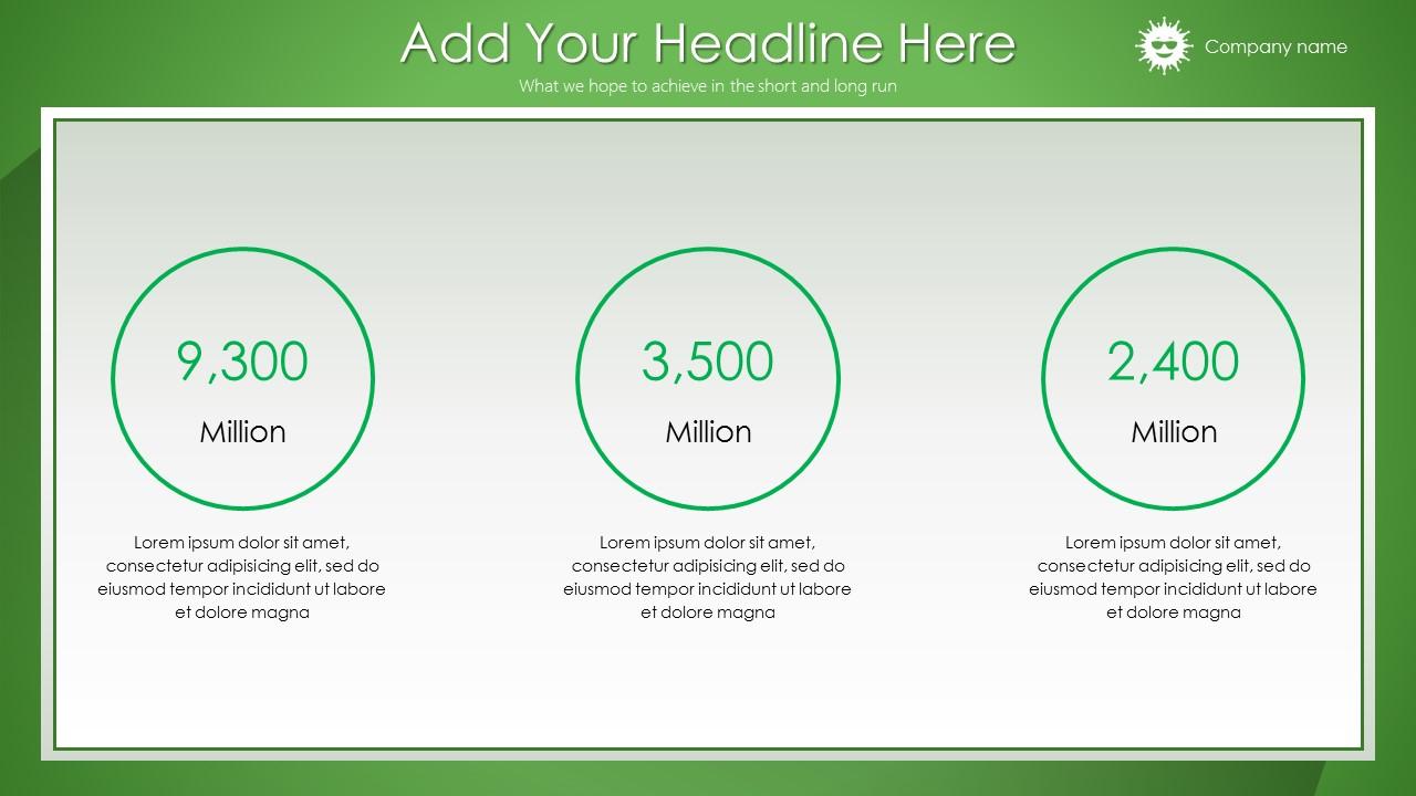 绿色清新总结报告商务PowerPoint模板_预览图7