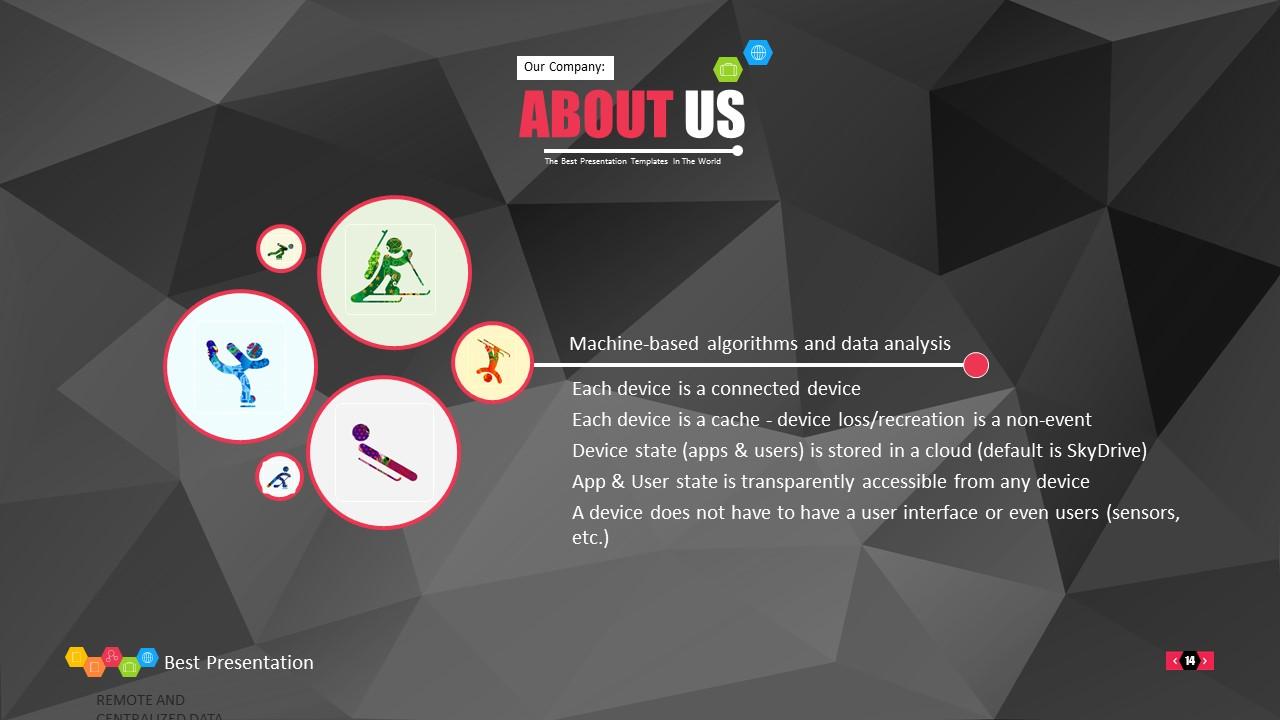 时尚黑色晶体团队介绍PowerPoint模板下载_预览图14