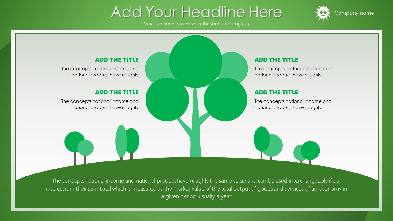 绿色清新总结报告商务PowerPoint模板_预览图14