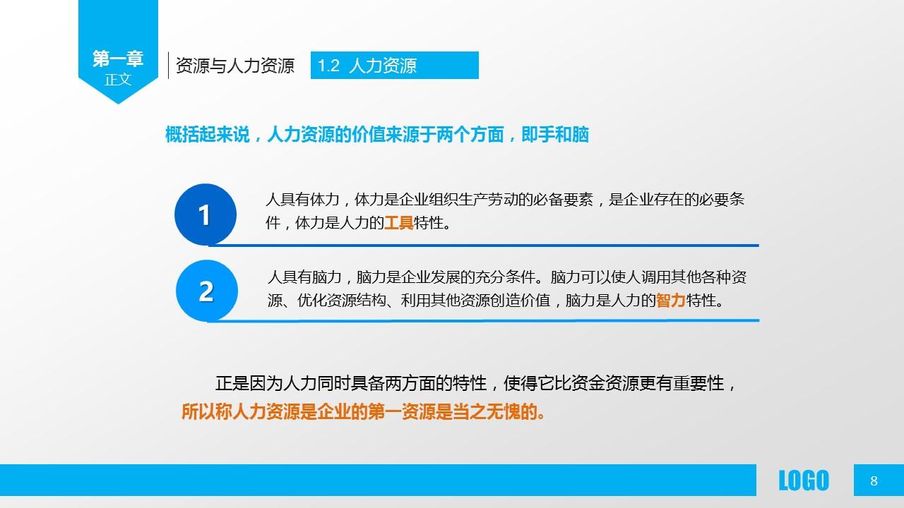 企业人力资源管理PPT模板下载_预览图8