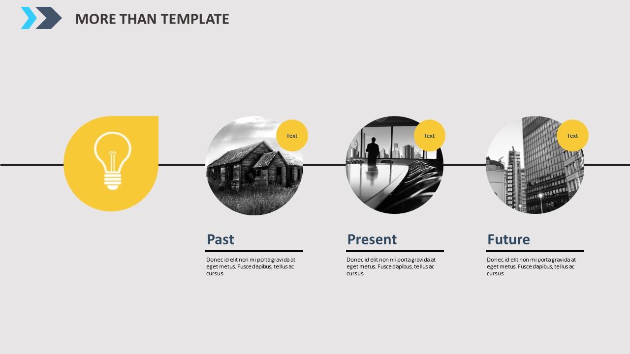 公司简介时尚商务PPT模板_预览图6