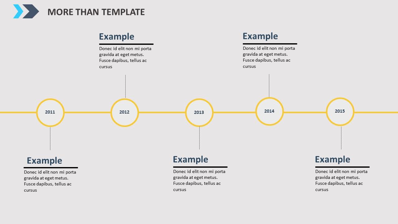 公司简介时尚商务PPT模板_预览图7