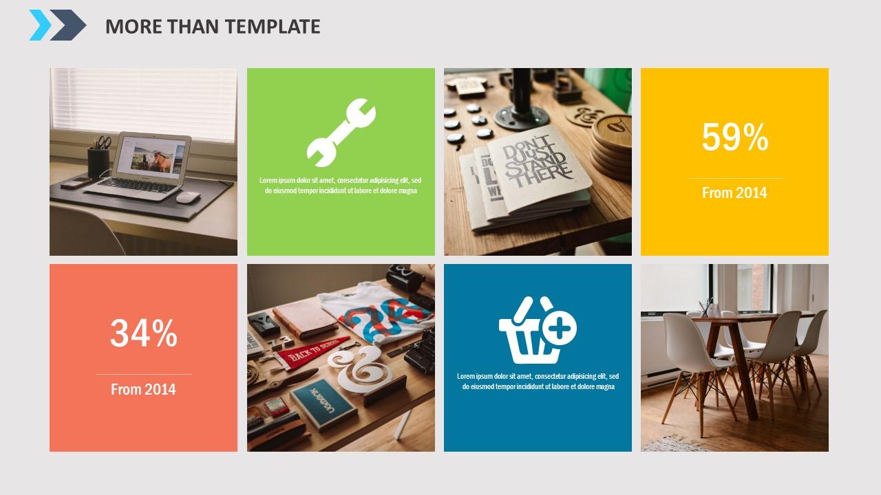 公司简介时尚商务PPT模板_预览图20