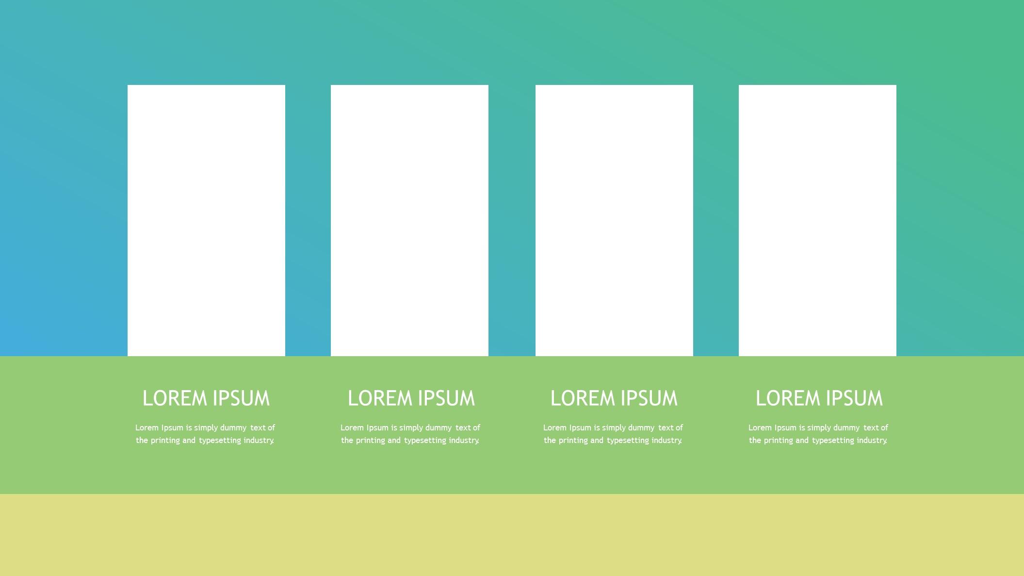 色块拼接时尚商务PPT模板下载_预览图3