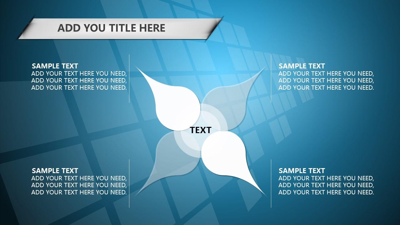 蓝色科技商务PowerPoint模板下载_预览图6