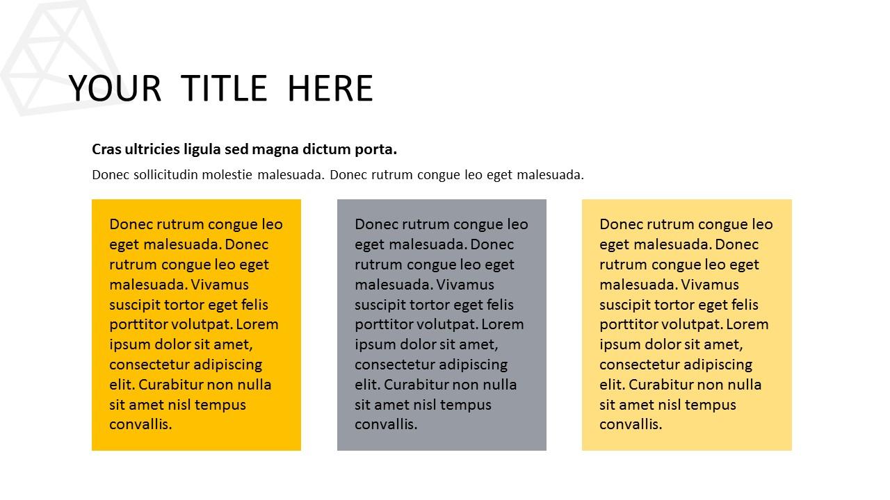 黑色多边形背景时尚PowerPoint模板下载_预览图6