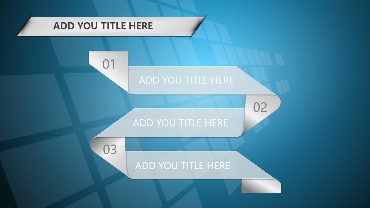 蓝色科技商务PowerPoint模板下载_预览图19