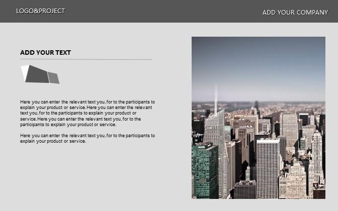 灰色简洁商务PPT模板下载_预览图19