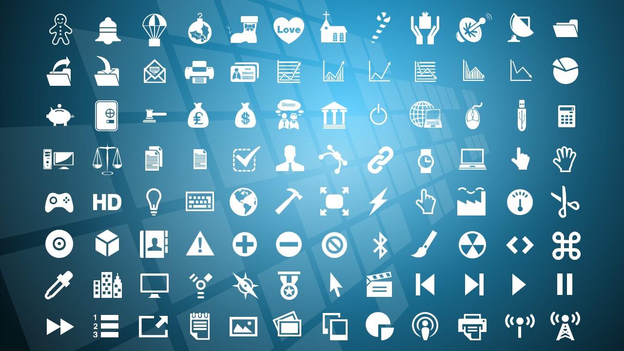 蓝色科技商务PowerPoint模板下载_预览图28