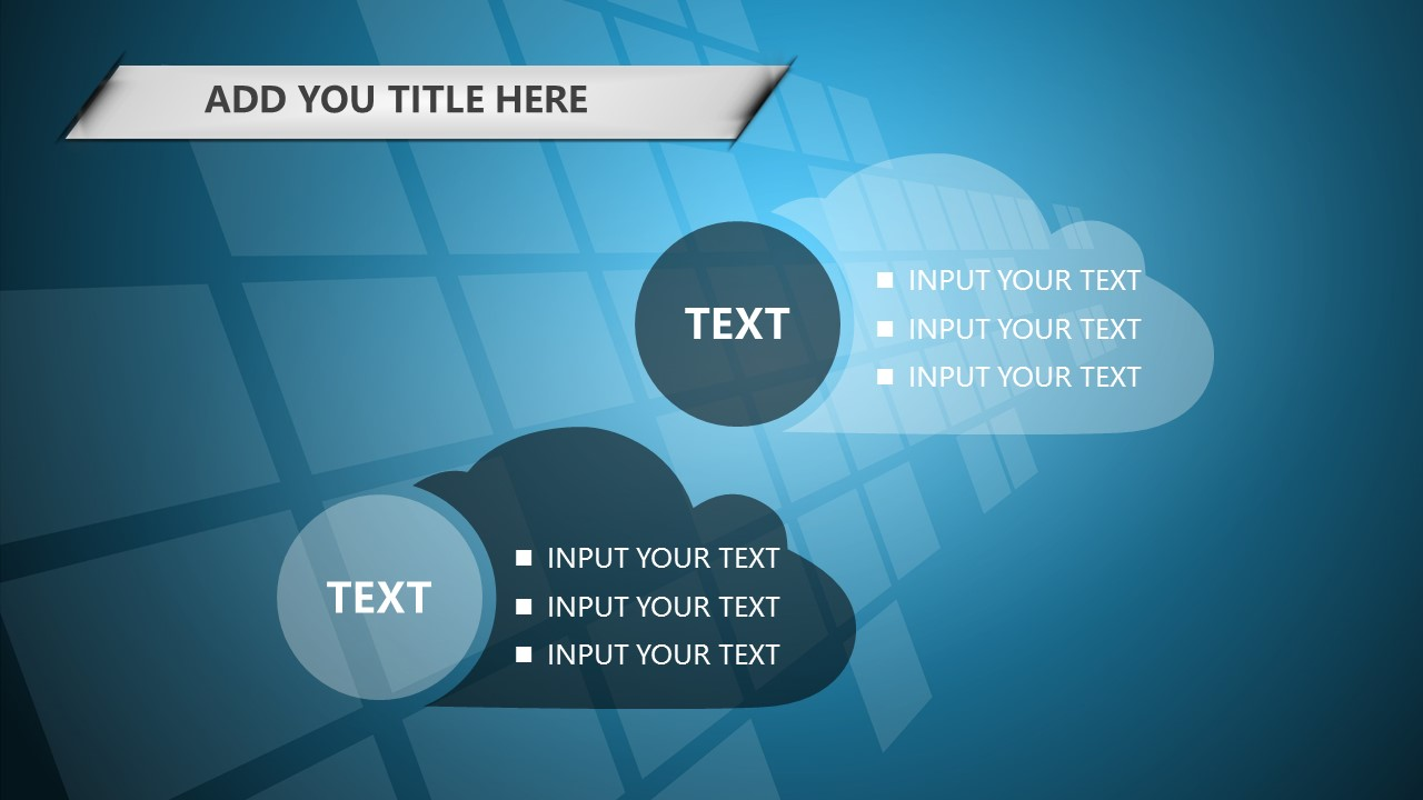 蓝色科技商务PowerPoint模板下载_预览图23