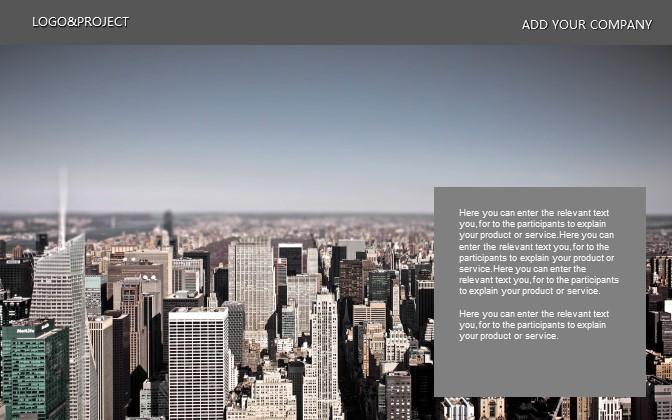 灰色简洁商务PPT模板下载_预览图23