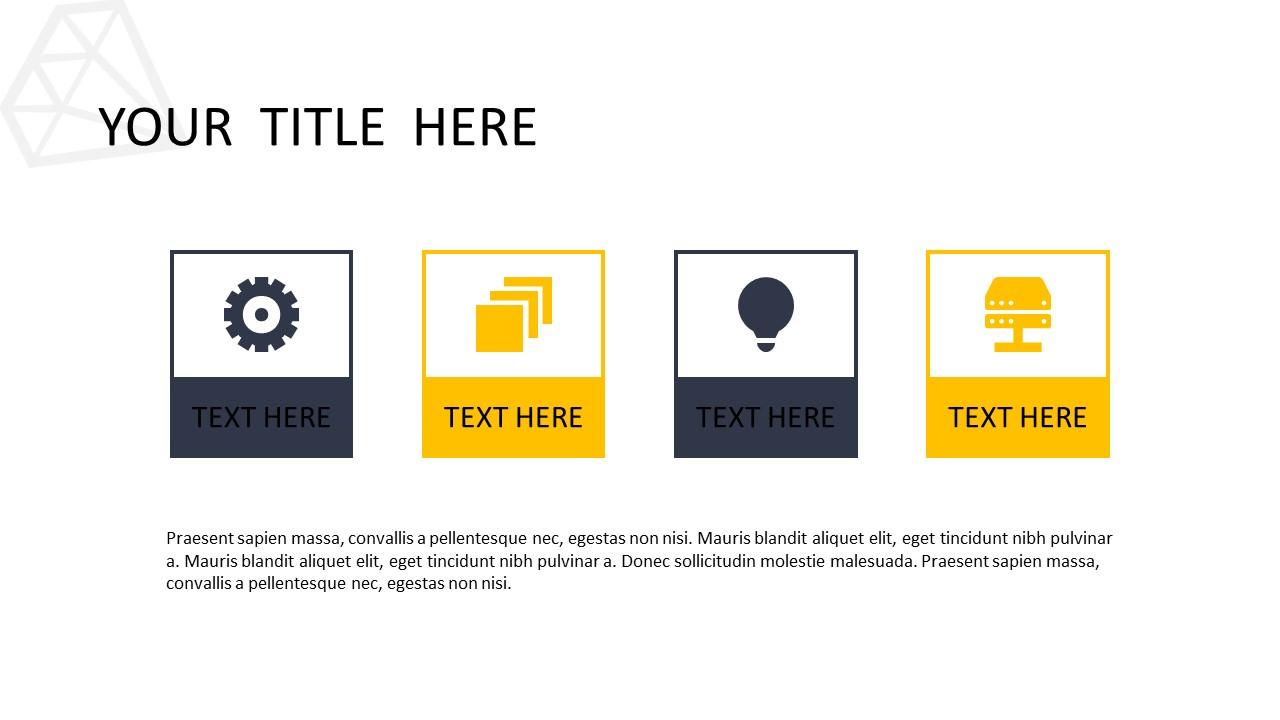 黑色多边形背景时尚PowerPoint模板下载_预览图9