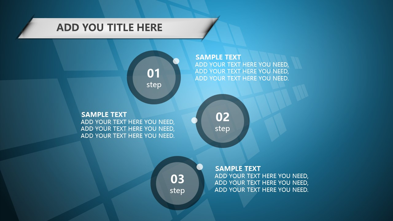 蓝色科技商务PowerPoint模板下载_预览图26