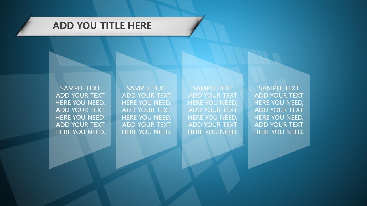蓝色科技商务PowerPoint模板下载_预览图11