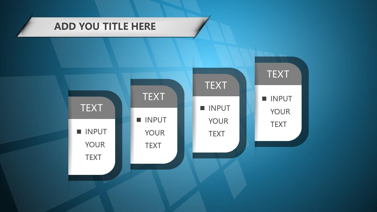 蓝色科技商务PowerPoint模板下载_预览图18