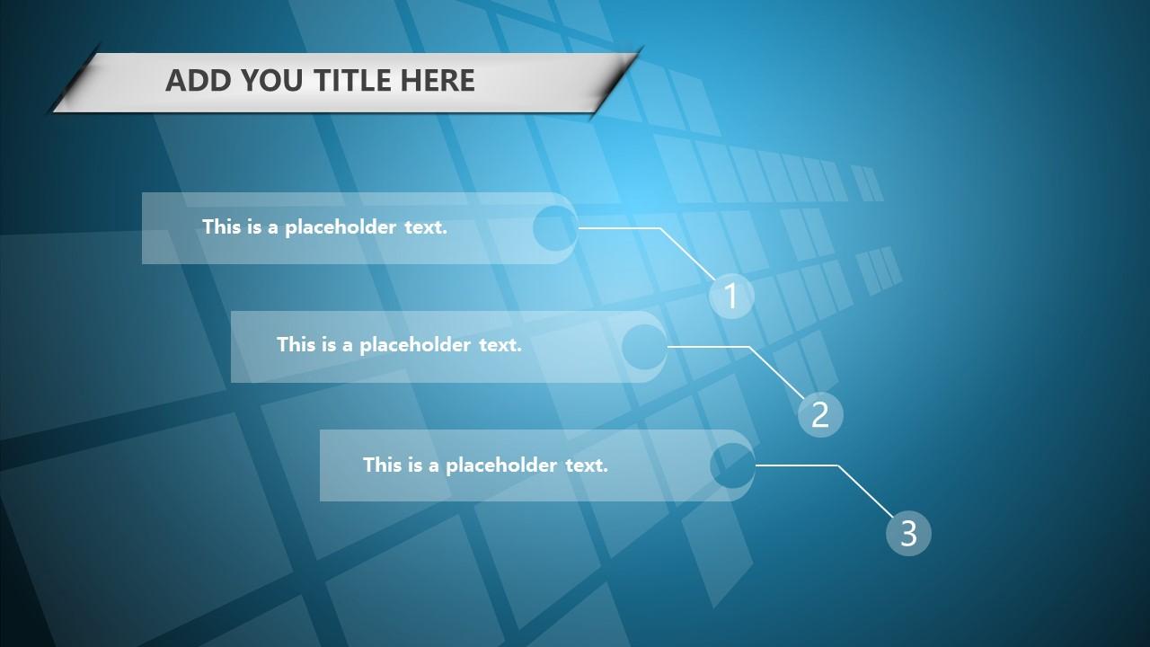 蓝色科技商务PowerPoint模板下载_预览图25