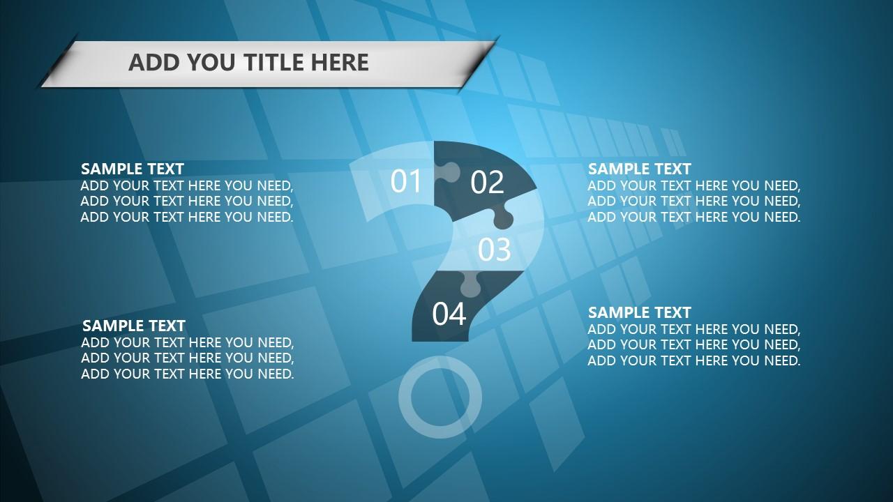 蓝色科技商务PowerPoint模板下载_预览图7