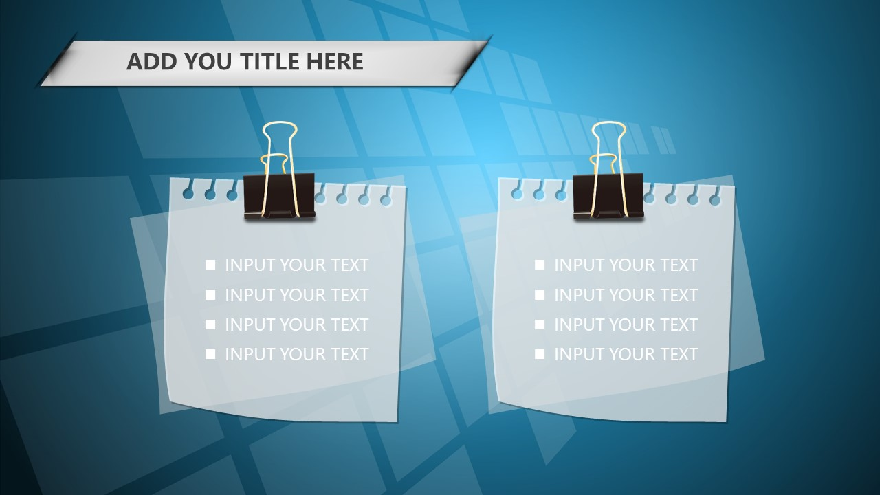 蓝色科技商务PowerPoint模板下载_预览图20