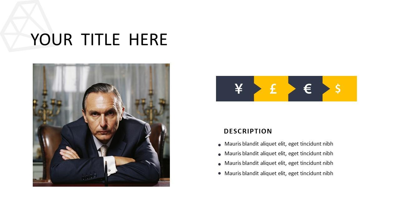 黑色多边形背景时尚PowerPoint模板下载_预览图4