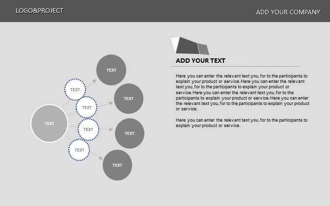 灰色简洁商务PPT模板下载_预览图4