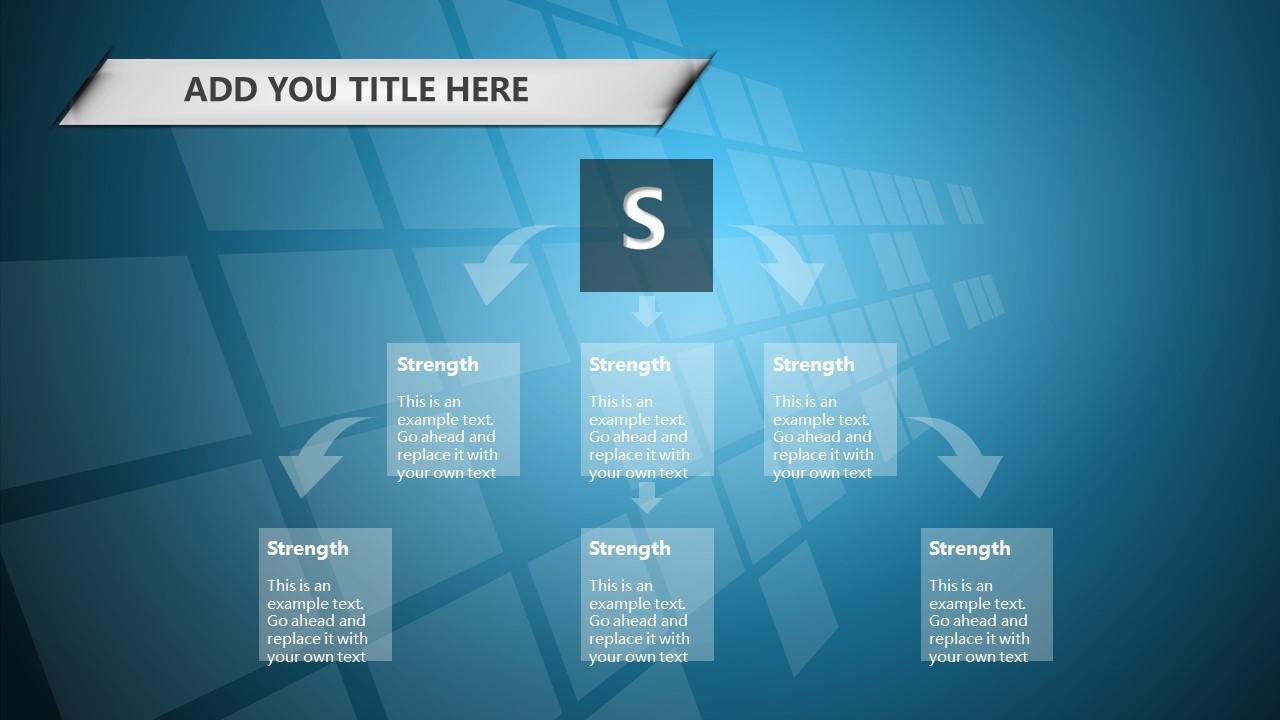 蓝色科技商务PowerPoint模板下载_预览图14