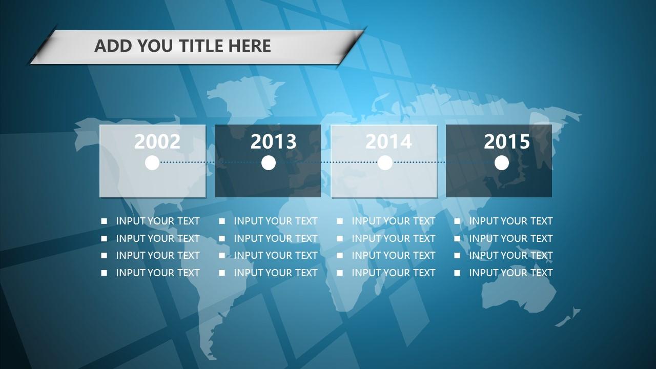 蓝色科技商务PowerPoint模板下载_预览图12