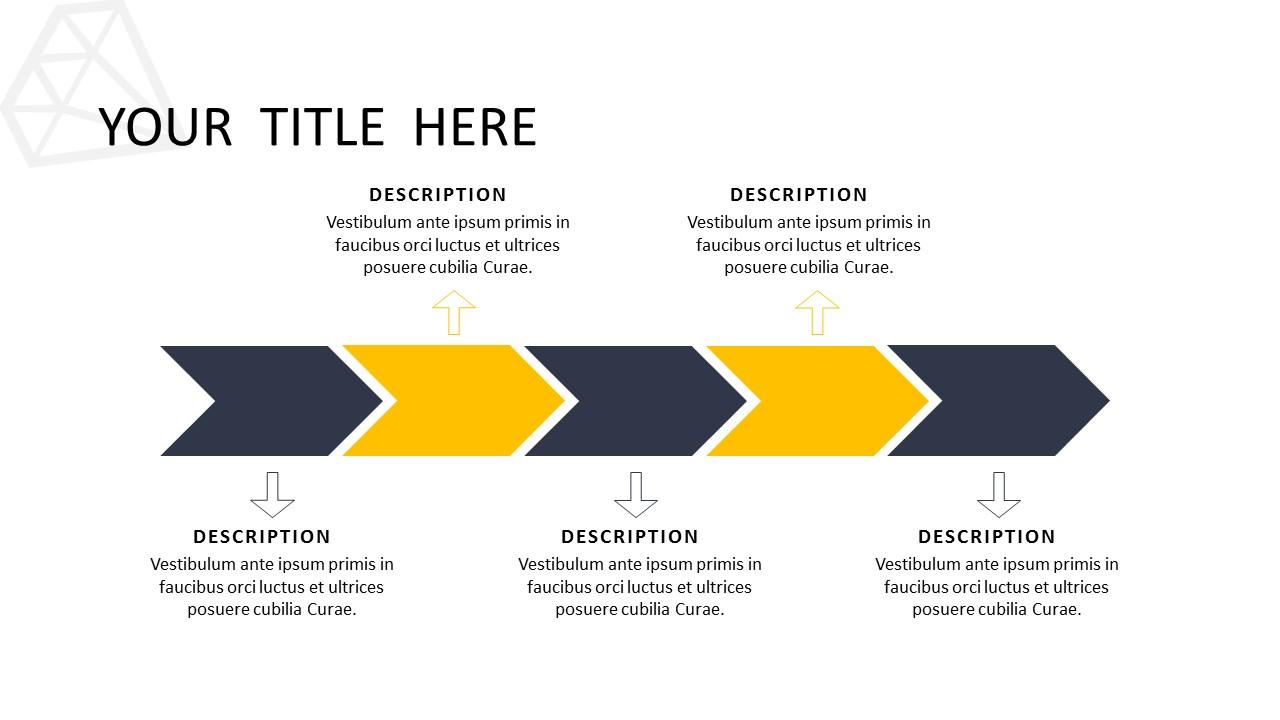 黑色多边形背景时尚PowerPoint模板下载_预览图13