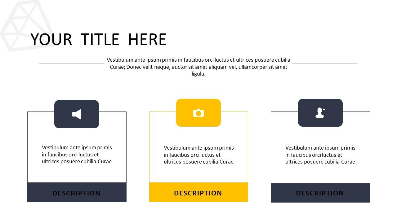 黑色多边形背景时尚PowerPoint模板下载_预览图10