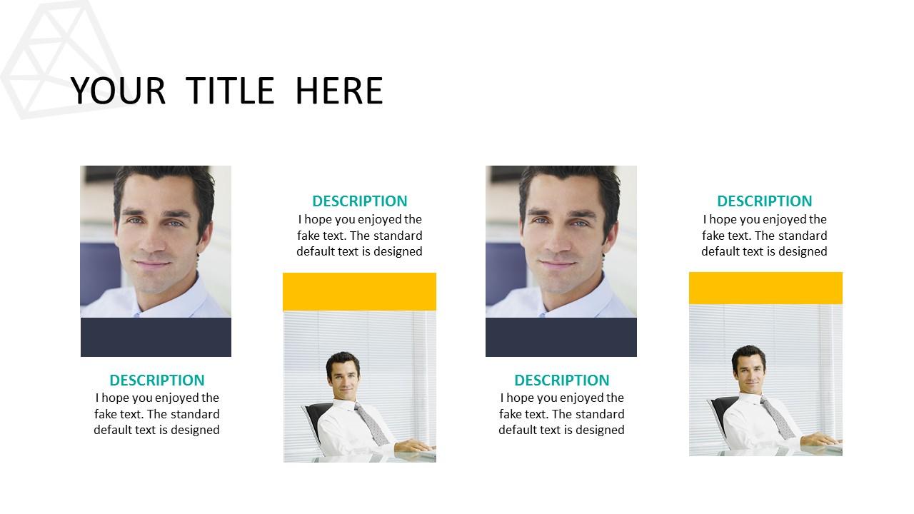 黑色多边形背景时尚PowerPoint模板下载_预览图5