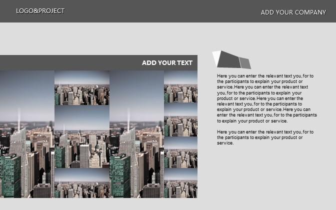 灰色简洁商务PPT模板下载_预览图3