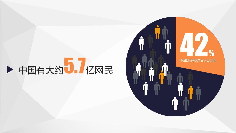 中国互联网时代的亮点PPT模板下载_预览图2
