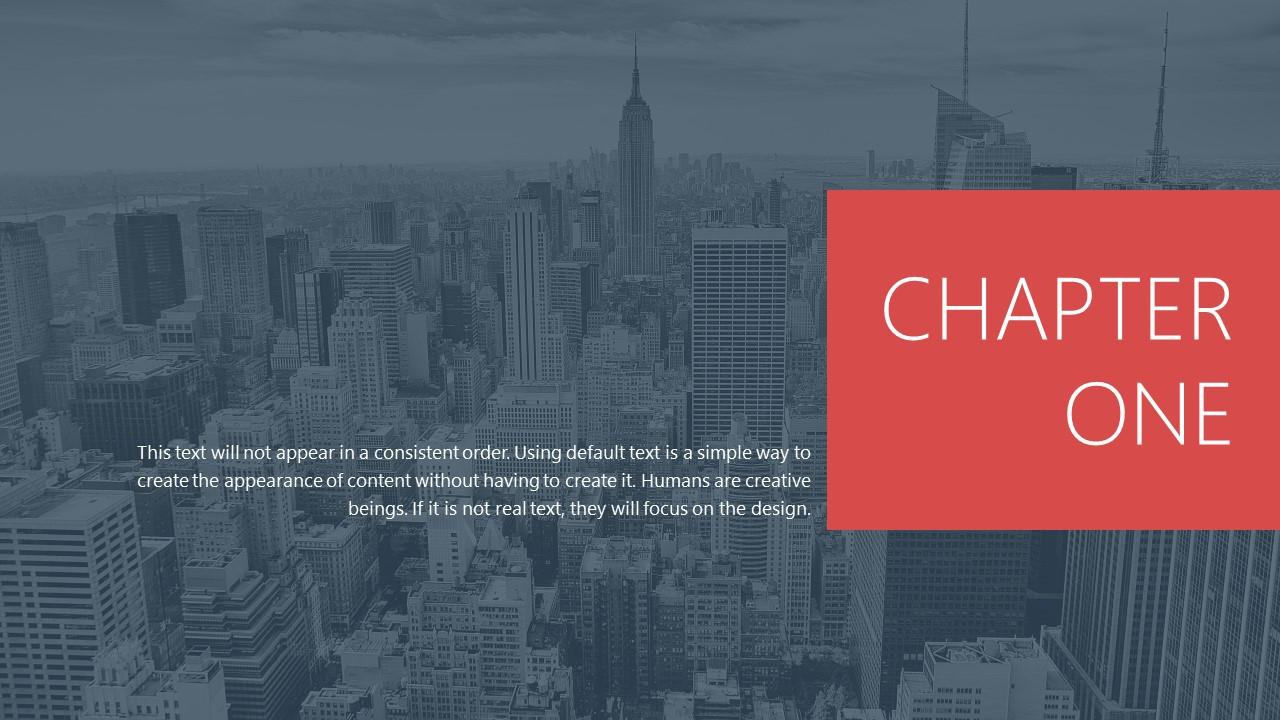 都市风格商务通用PowerPoint模板下载_预览图2