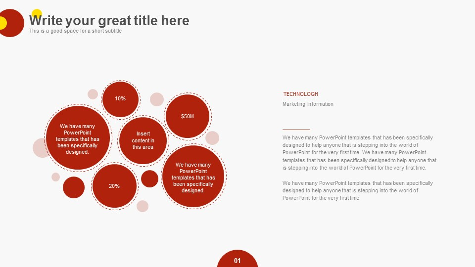 中国红商业报告PPT模板下载_预览图18