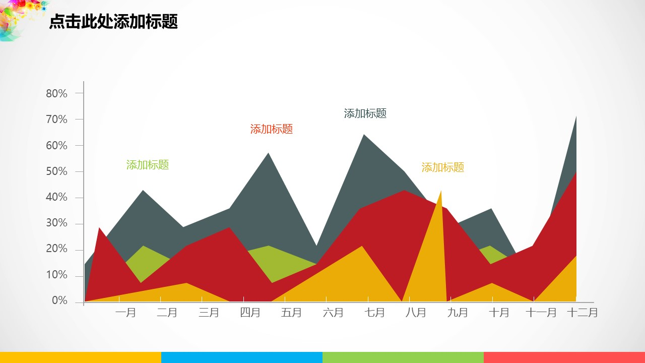 彩色梦幻年终总结PowerPoint模板_预览图17