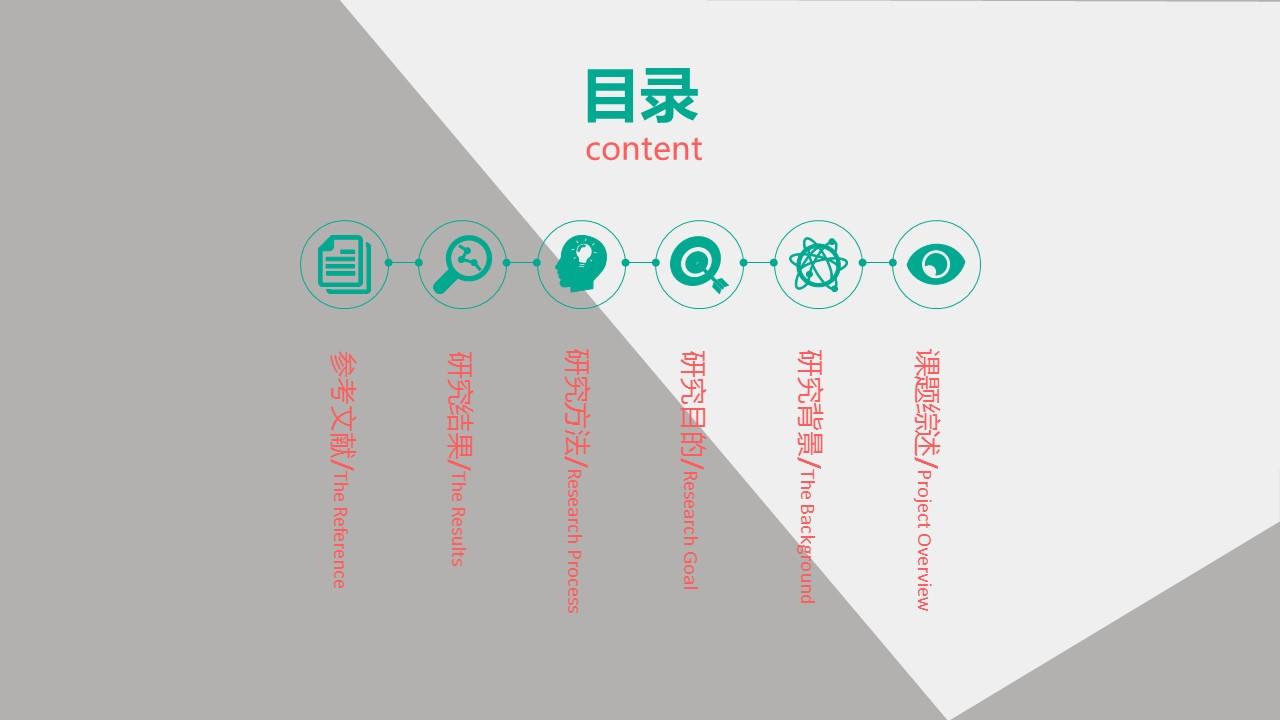 论文答辩学术类通用PowerPoint模板下载_预览图2