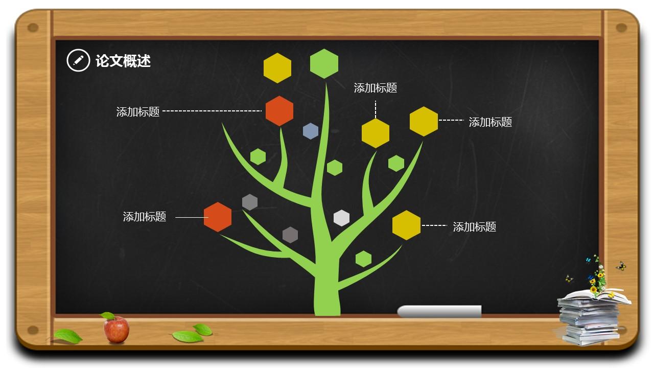 毕业答辩通用PPT模板下载_预览图5