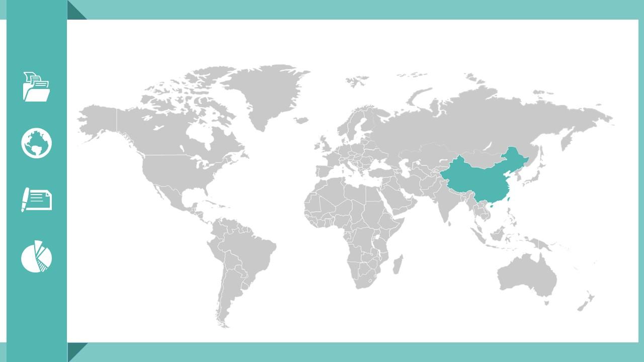 绿色扁平化工作总结商务PPT模版_预览图28