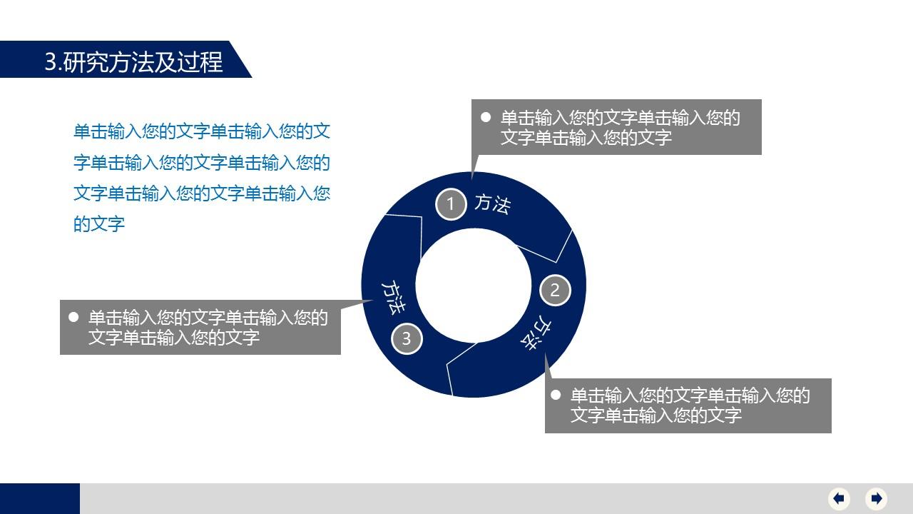 大学毕业论文答辩PowerPoint模版下载_预览图11